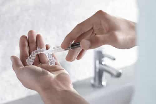 zoom take home whitening trays